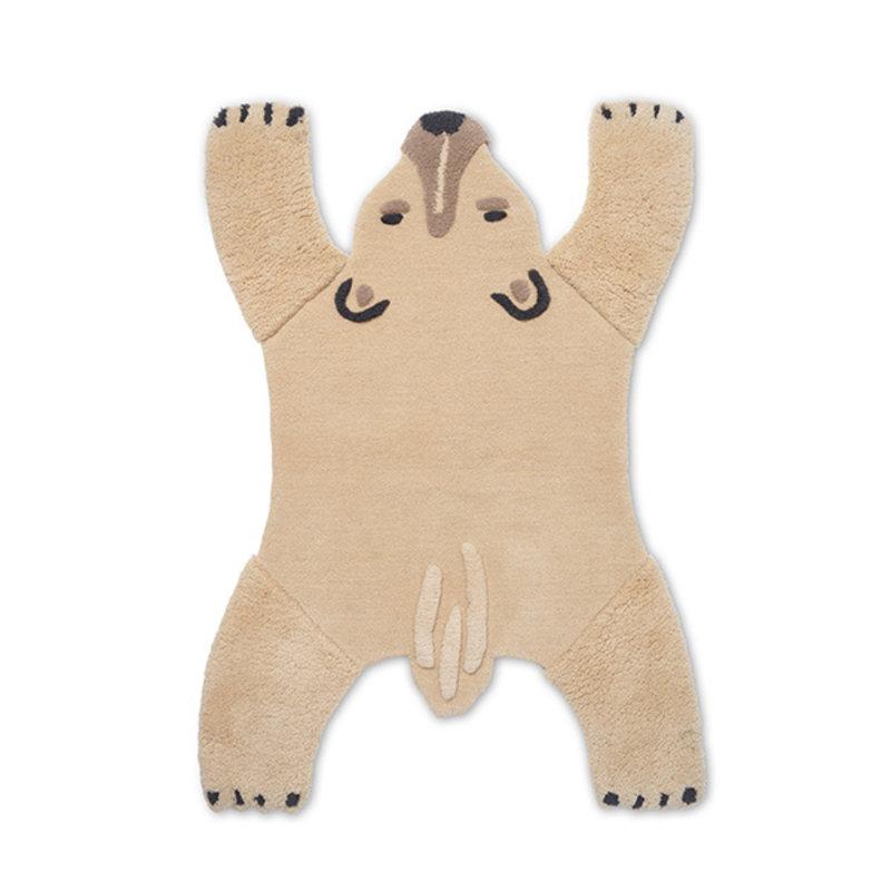 ferm LIVING-collectie Vloerkleed Polar Bear