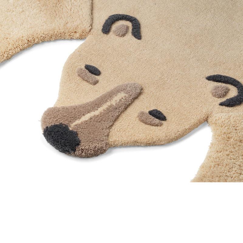 ferm LIVING-collectie Animal Tufted Rug - Polar bear