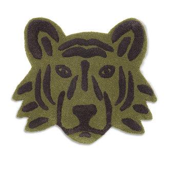 ferm LIVING Wand- en vloerkleed tufted Tiger Head