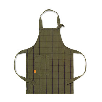 ferm LIVING Kids Hale Apron - Green/Black