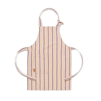 ferm LIVING Kids Hale Apron - Rose/Bright Blue