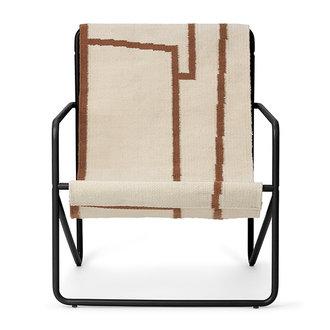 ferm LIVING Desert Chair Kids - Black/Shape