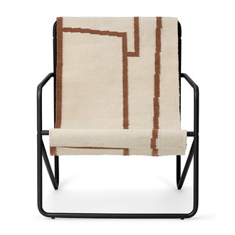 ferm LIVING Desert Chair Kids - zwart/Shape