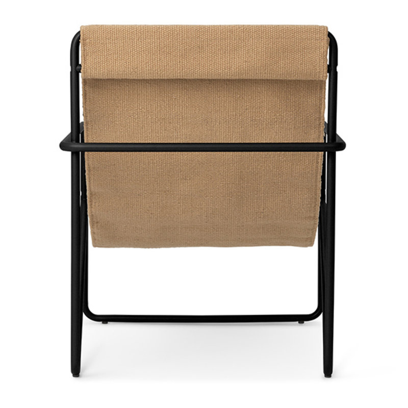 ferm LIVING-collectie Desert Chair Kids - zwart/Sand