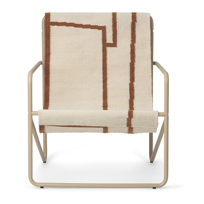 ferm LIVING-collectie Desert Chair Kids - Cashmere/Shape