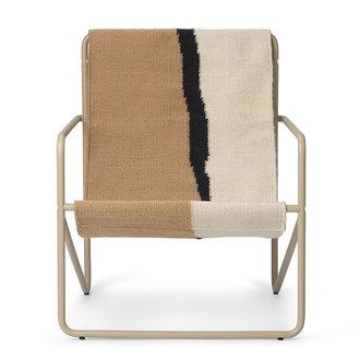 ferm LIVING Desert Chair Kids - Cashmere/Soil