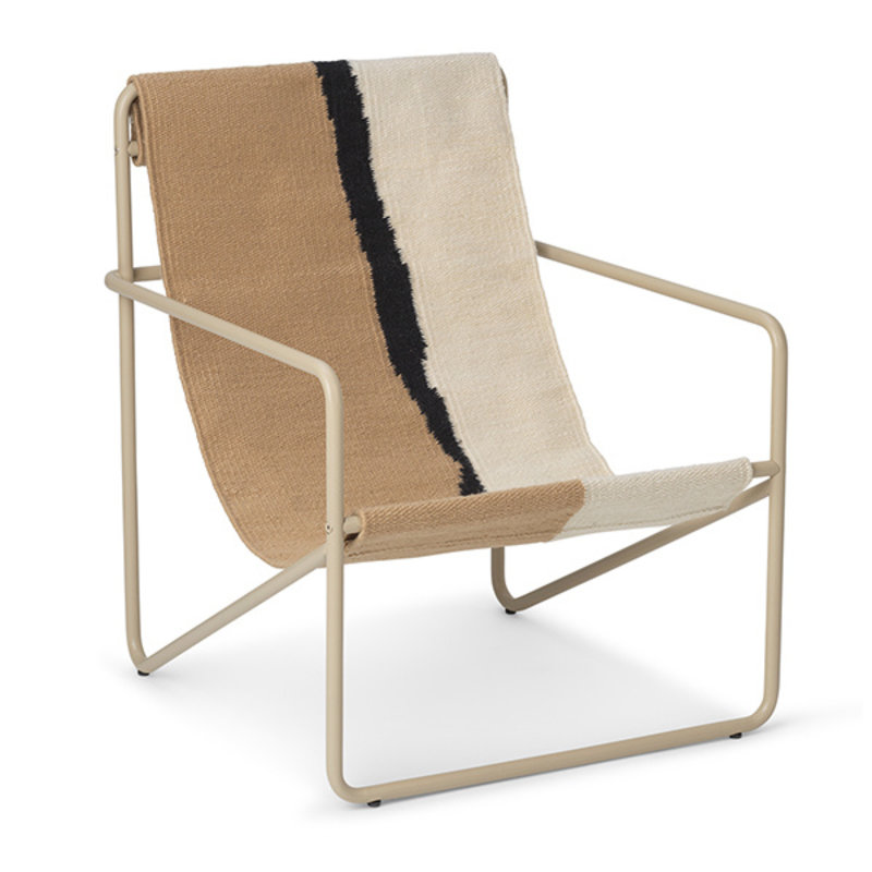 ferm LIVING-collectie Desert Chair Kids - Cashmere/Soil