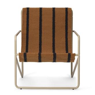 ferm LIVING Desert Chair Kids - Cashmere/Stripe