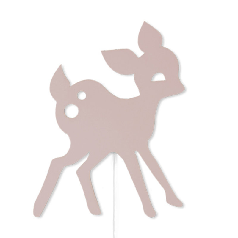 ferm LIVING-collectie My Deer Lamp Rose