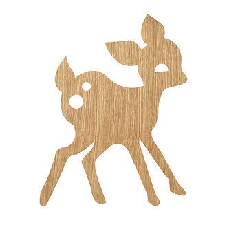 ferm LIVING My Deer Lamp Oiled Oak