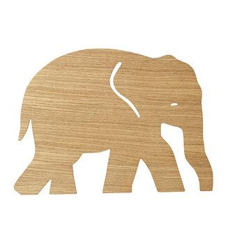 ferm LIVING Elephant wandlamp Oiled Oak