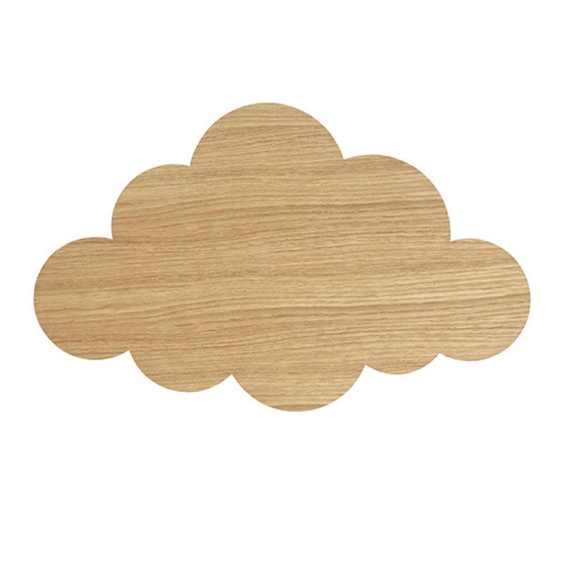 ferm LIVING-collectie Cloud Lamp Oiled Oak