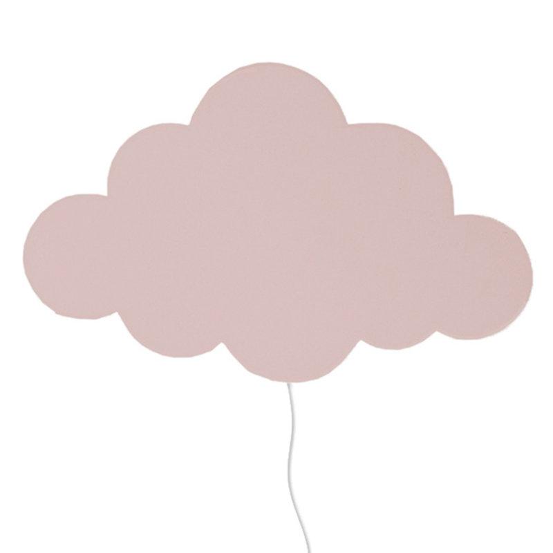 ferm LIVING-collectie Cloud Lamp Dusty Rose