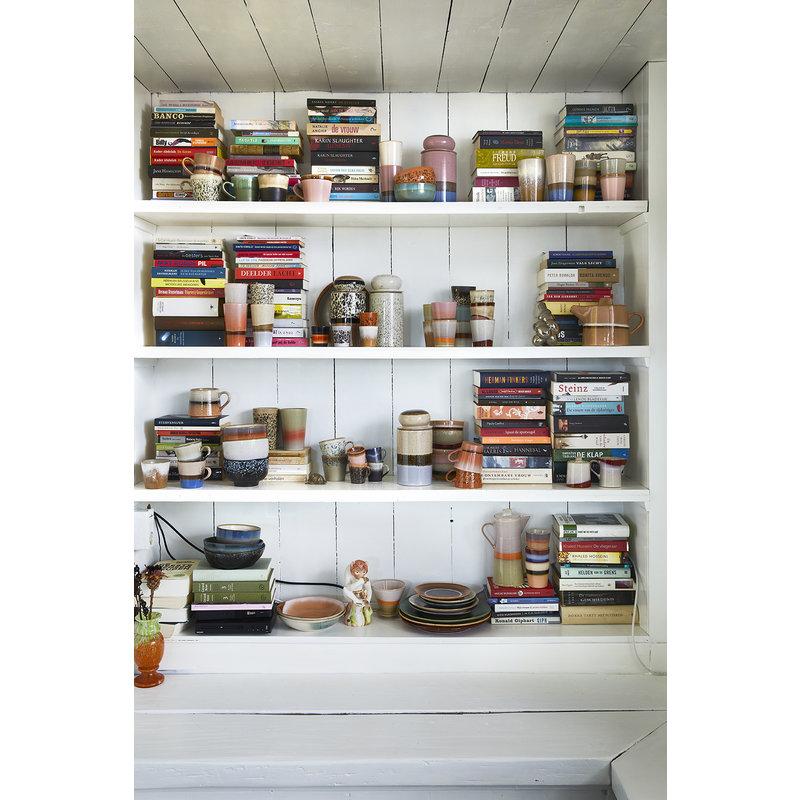 HKliving-collectie Keramiek 70's storage jar: lake