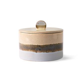 HKliving ceramic 70's cookie jar: lake