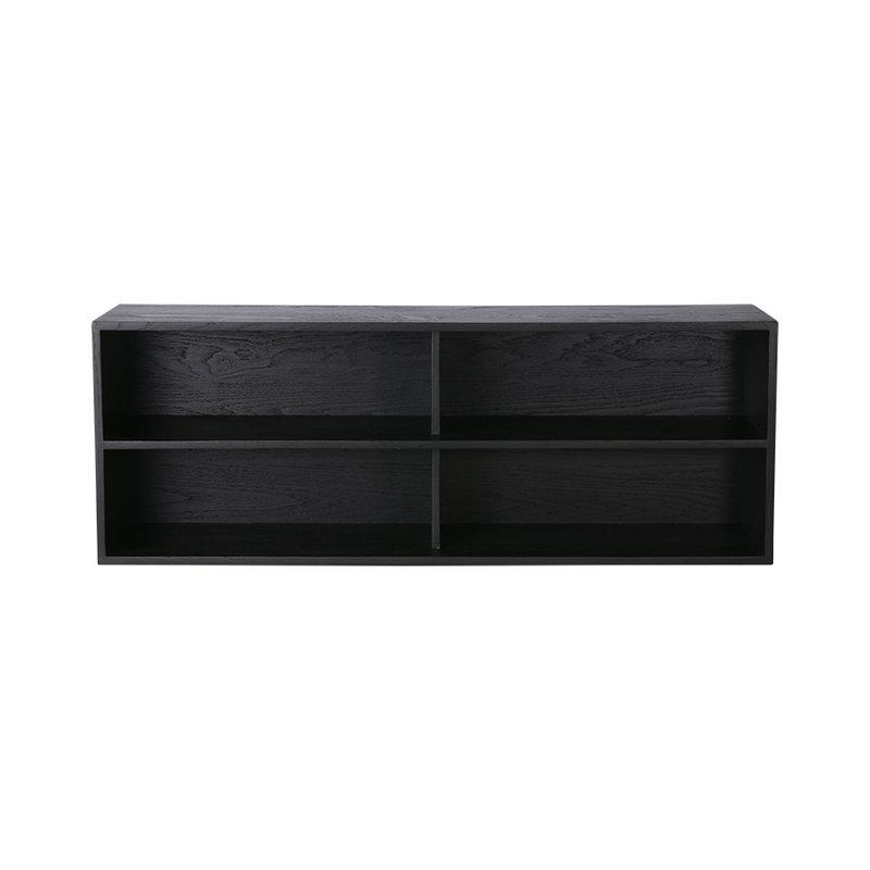 HKliving-collectie Modulaire kast zwart vakken element A