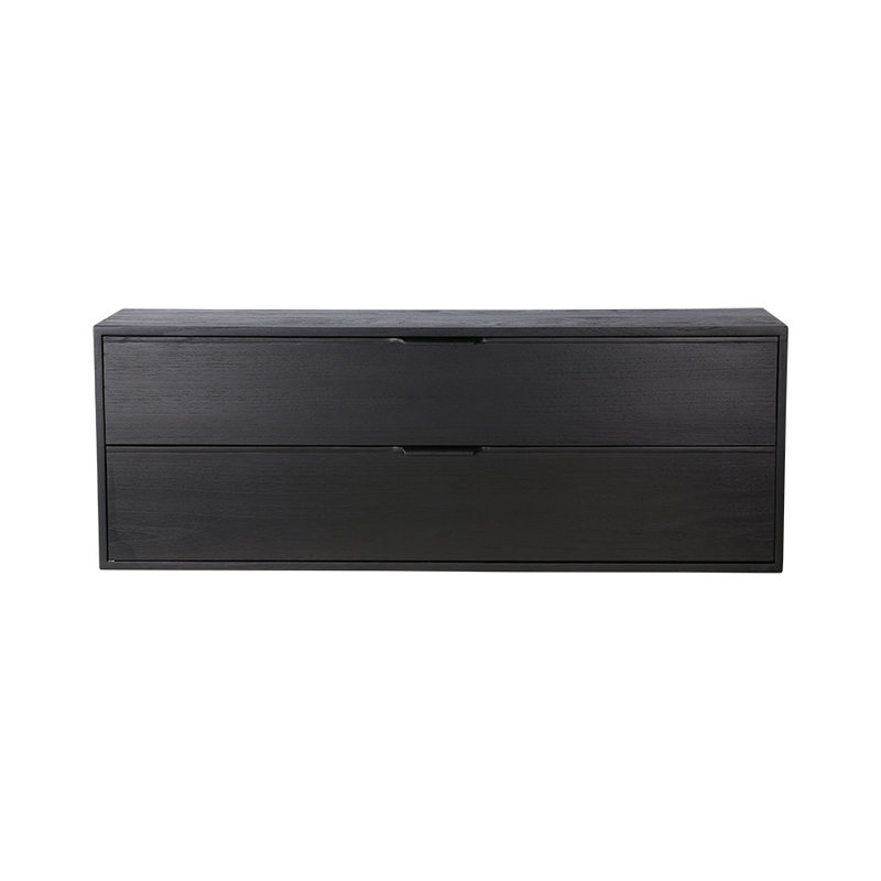 HKliving-collectie modular cabinet, black, drawer element C