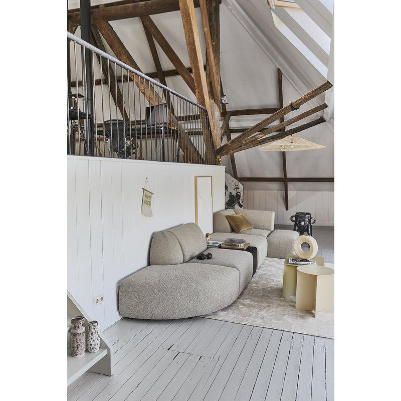 HKliving-collectie viscose rug sand (200x300cm