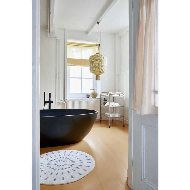 HKliving-collectie round bath mat swirl 60cm