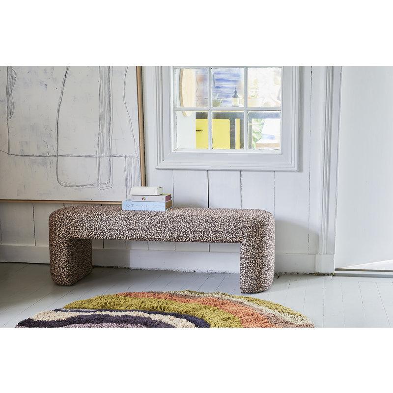 HKliving-collectie Rond vloerkleed gradient dia 150cm