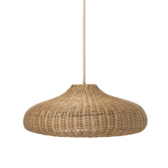 ferm LIVING Braided Lamplampenkap naturel