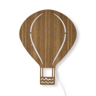 ferm LIVING Air Balloon wandlamp Smoked Oak