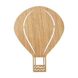 ferm LIVING Air Balloon wandlamp Oiled Oak