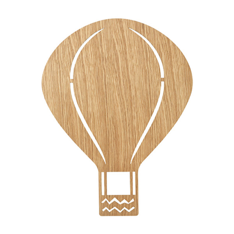 ferm LIVING-collectie Air Balloon Lamp Oiled Oak