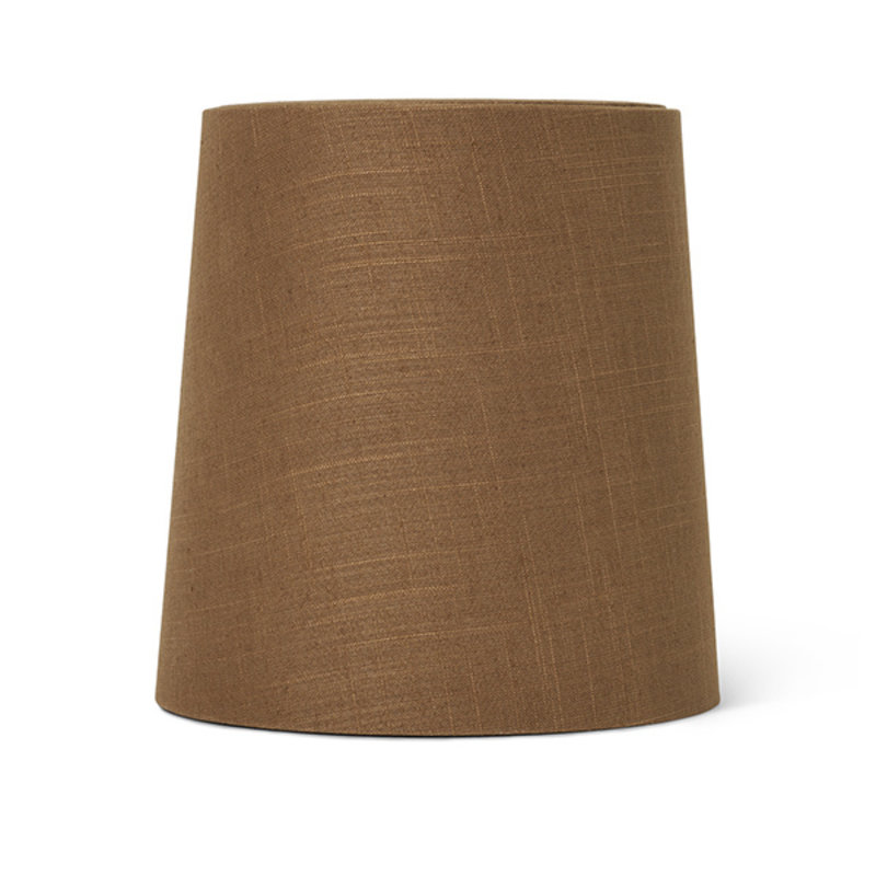 ferm LIVING-collectie Hebe Lamp Shade Medium Curry