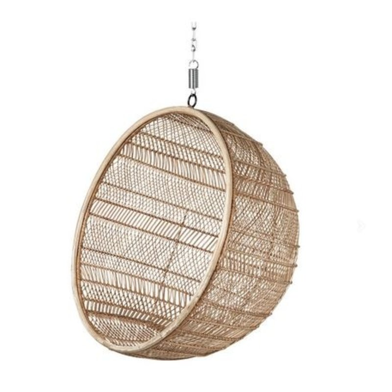 HKliving-collectie Hammock chair rattan ball - natural