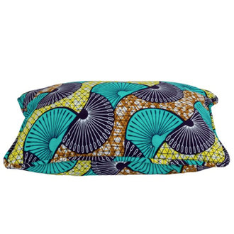 Household Hardware Cushion cover 35x50 cm peacock turquoise