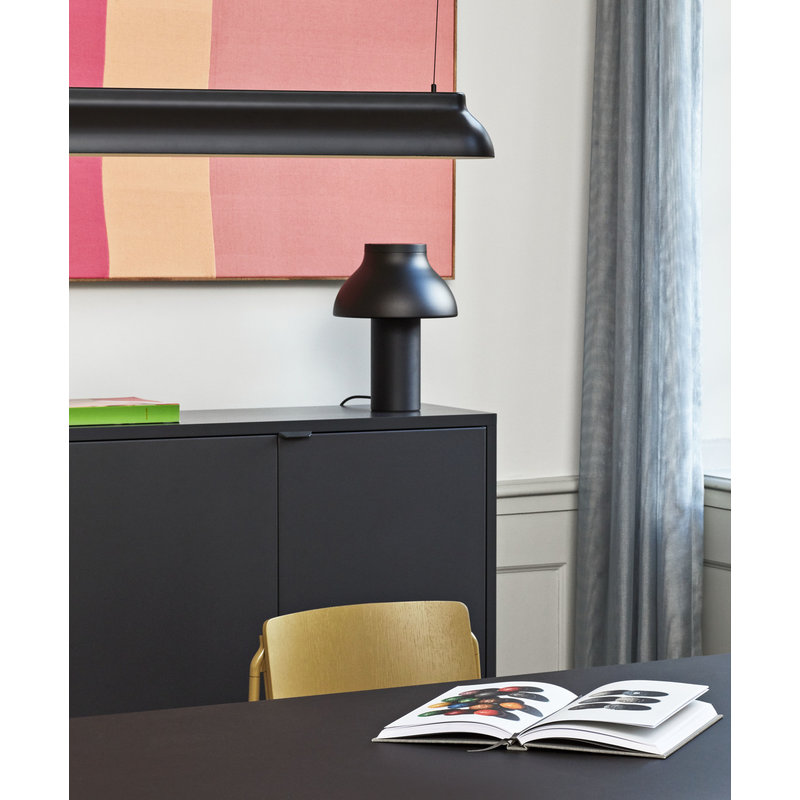 HAY-collectie PC Linear Pendant hanglamp zwart