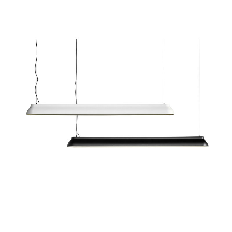 HAY-collectie PC Linear Pendant hanglamp creme wit