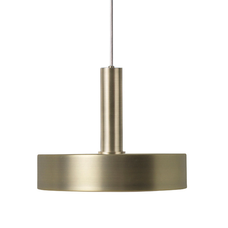 ferm LIVING-collectie Collect Record lampenkap Brass