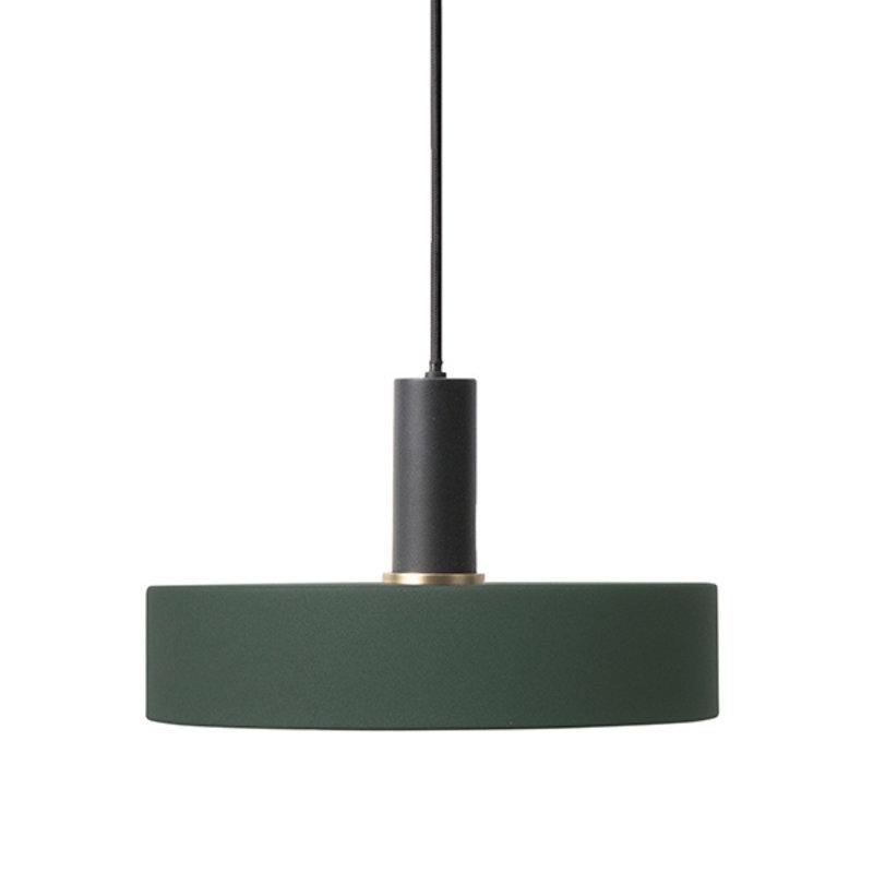 ferm LIVING-collectie Collect hanglamp Low zwart