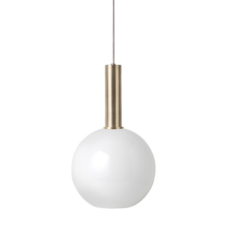 ferm LIVING-collectie Collect hanglamp High Brass