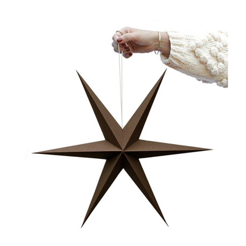 Delight Department-collection Star brown - set of 2 pieces