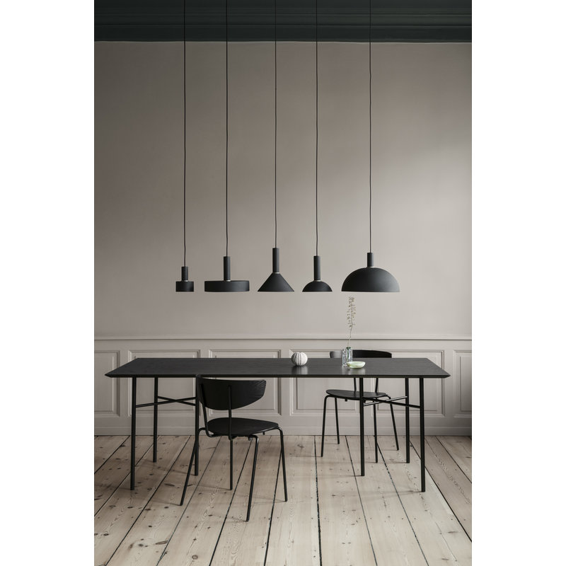 ferm LIVING-collectie Collect Ring Black Brass