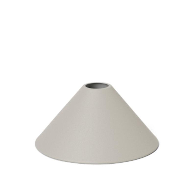 ferm LIVING-collectie Collect Cone lampenkap lichtgrijs