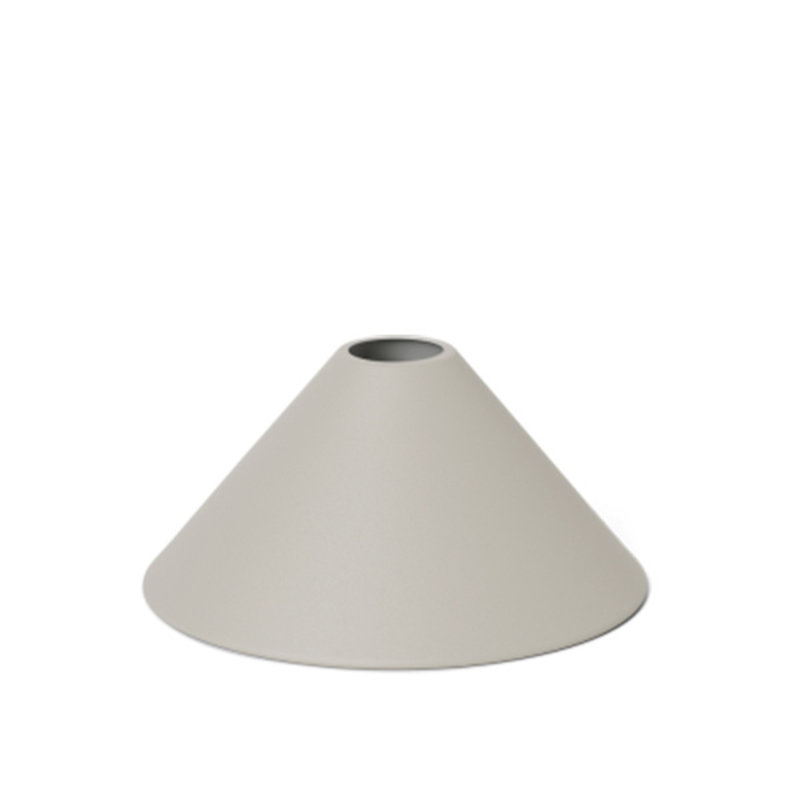 ferm LIVING-collectie Collect Cone Shade Light Grey