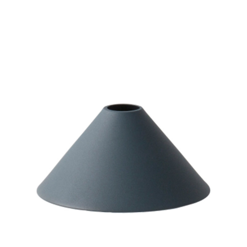 ferm LIVING-collectie Collect Cone lampenkap donkerblauw