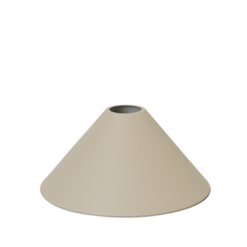 ferm LIVING-collectie Collect Cone lampenkap Cashmere