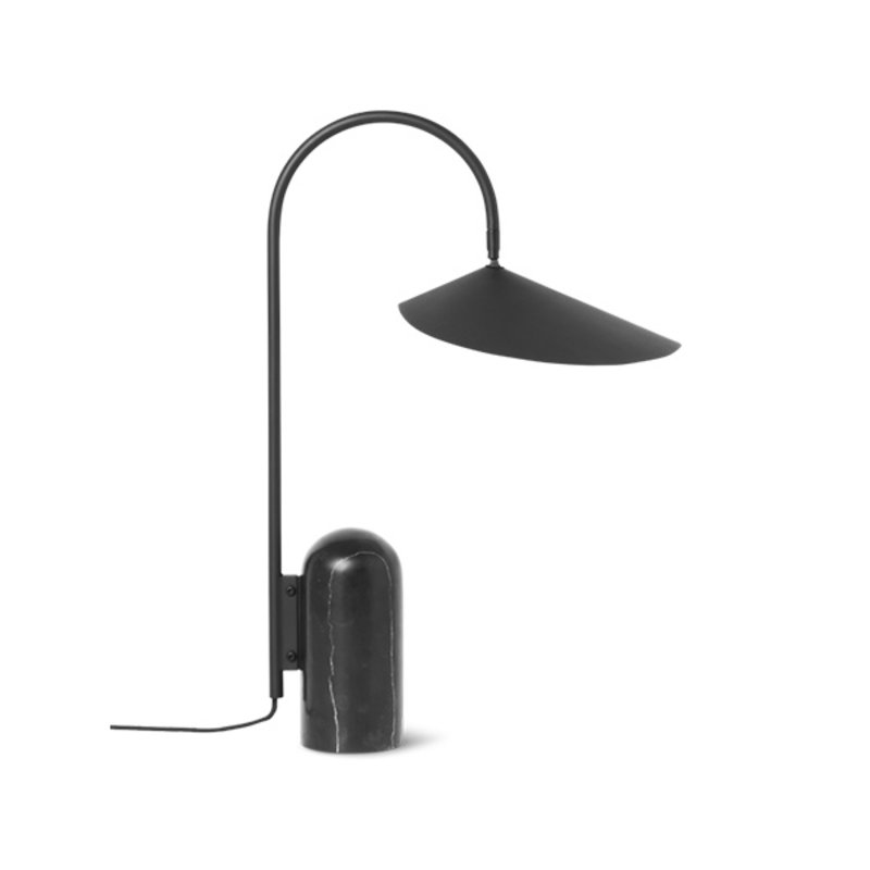 ferm LIVING-collectie Arum Table Lamp Black
