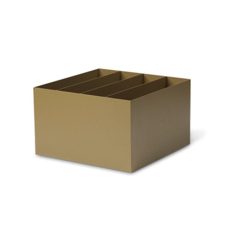 ferm LIVING-collectie Plant Box divider olijf