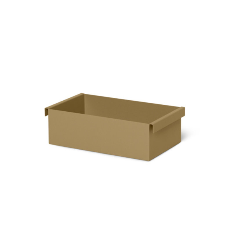 ferm LIVING-collectie Plant Box Container - Olive