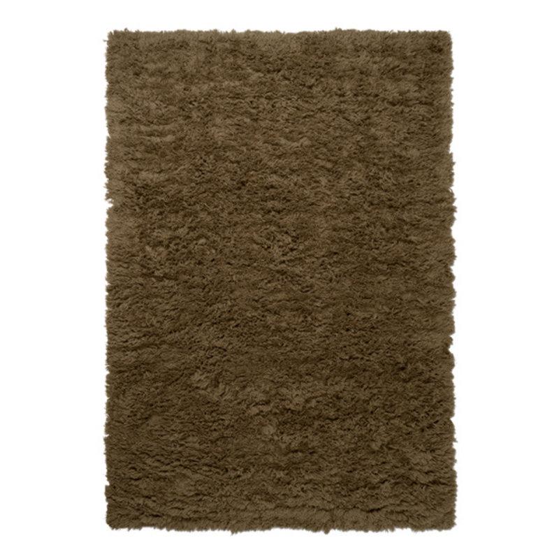ferm LIVING-collectie Vloerkleed Meadow hoogpolig L tapenade