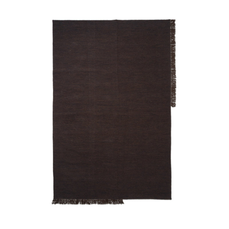 ferm LIVING-collectie Vloerkleed Kelim XL Dark Melange