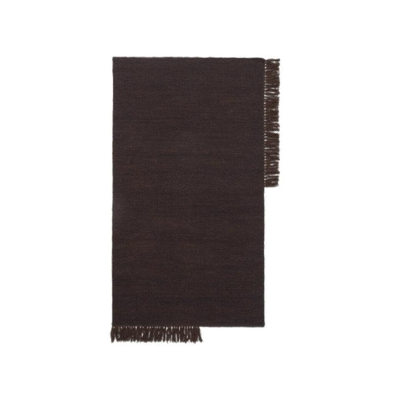 ferm LIVING-collectie Kelim Rug - Small - Dark Melange