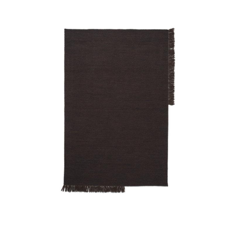 ferm LIVING-collectie Vloerkleed Kelim M Dark Melange