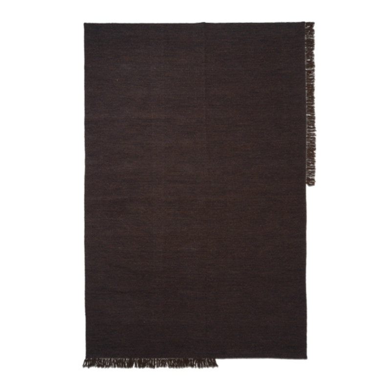 ferm LIVING-collectie Kelim Rug - Large - Dark Melange